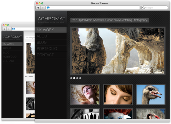 Achromat - WordPress Theme for Photographers