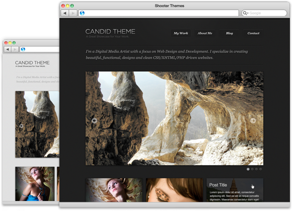 Candid - WordPress Theme for Photographers